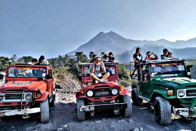 Yogyakarta Borobudur Sunrise, Merapi Jeep & Prambanan Temple Private Tour