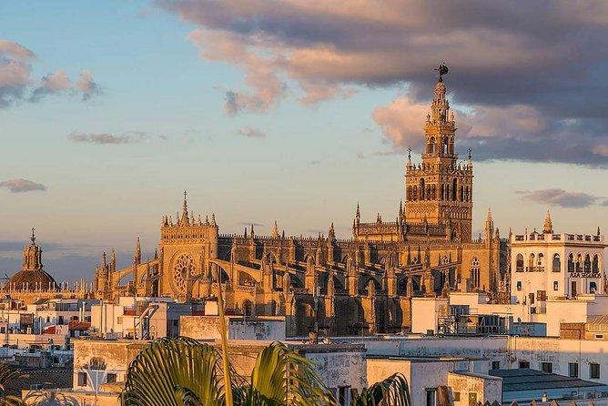 Seville: Alcázar,Cathedral and Plaza España Private Tour