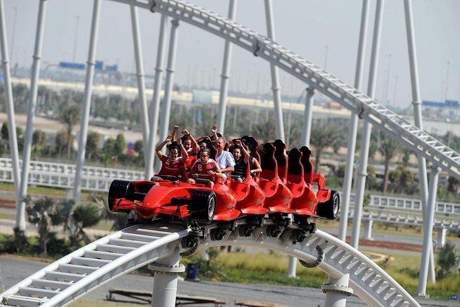 Abu Dhabi City Tour with Ferrari world & Buffet Lunch