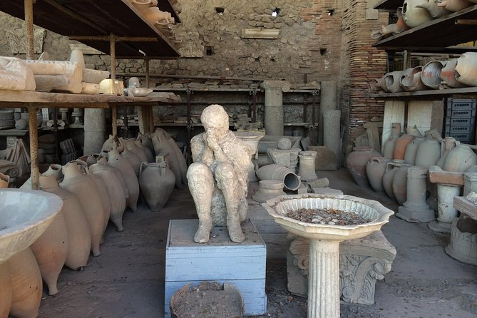Pompeii-Herculaneum-Vesuvius tour from Sorrento with licensed guide included