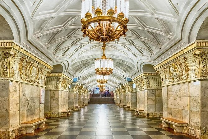 Wonders of Moscow Metro (Private Tour with licensed Guide)