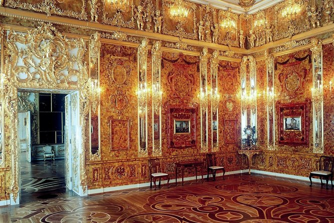 Excursion to the city of Pushkin (Tsarskoye Selo) with a visit to the amber room photo 2