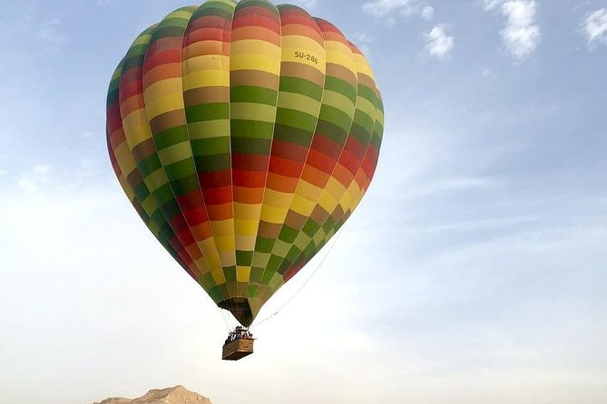Luxor: Sunrise Hot Air Balloon Ride