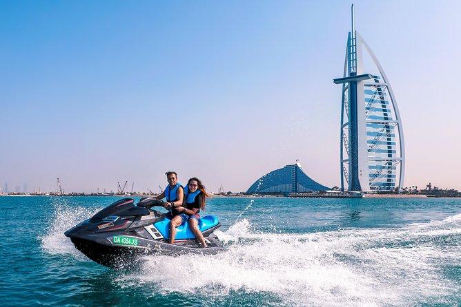 Dubai Jet Ski: Burj Al Arab, Burj Khalifa, Marina & Atlantis