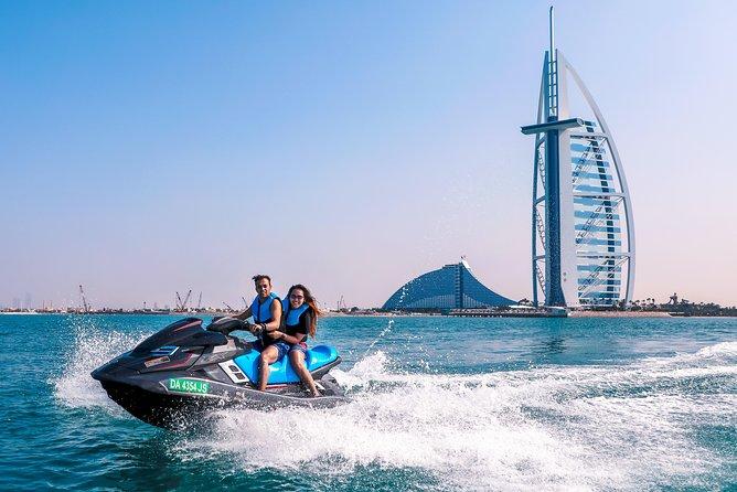 Dubai: Jet ski Adventure Rides Burj Al Arab, Burj Khalifa & Atlantis