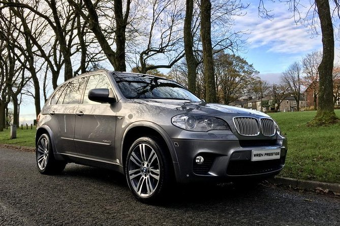 BMW X5 Business class transfer from airport