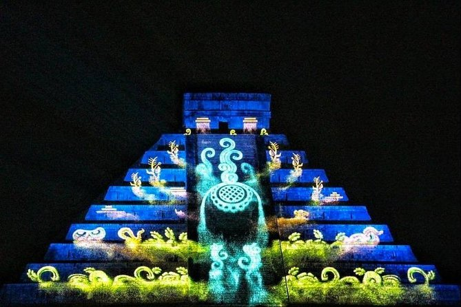 The Best NIGHT SHOW on CHICHEN ITZA. With Lunch Transportation Cenote Valladolid