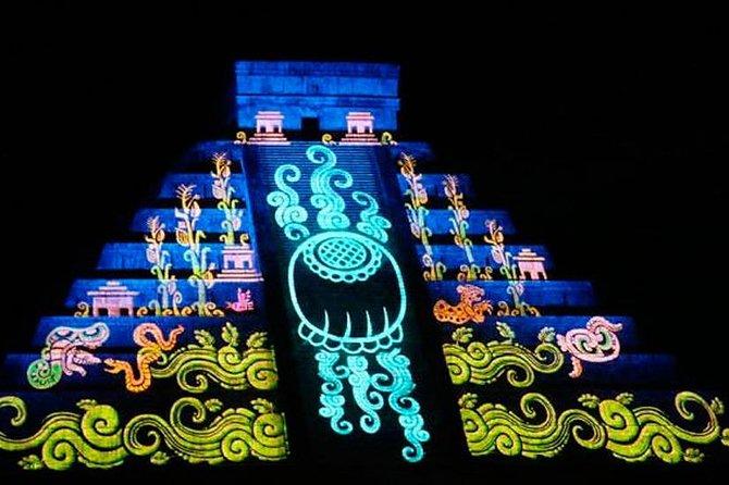 NIGHTS OF KUKULKAN at Chichén Itzá Night + Cenote + Valladolid + Buffet