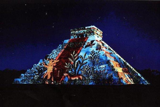 THE MAGIC NIGHTS OF KUKULKAN - Chichén Itzá night + Cenote + Valladolid