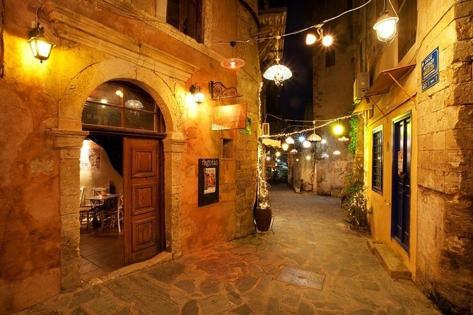 The Walking Tour Of Chania Old Town