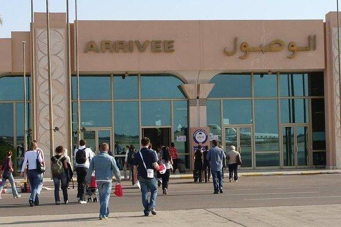 "Departure: ""Al Massira"" Airport. Arrival: Agadir City"