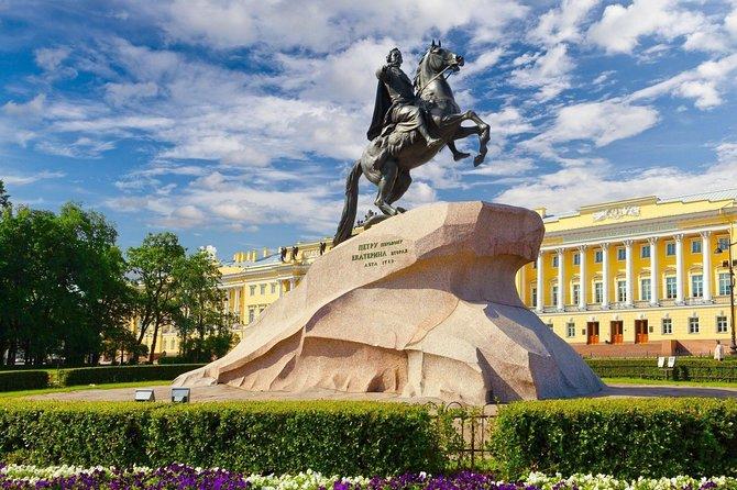 Sightseeing tour of city Saint-Petersburg 4 hours