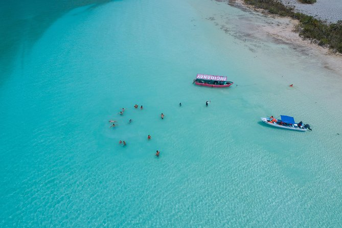 Bacalar Blue Lagoon from Playa del Carmen