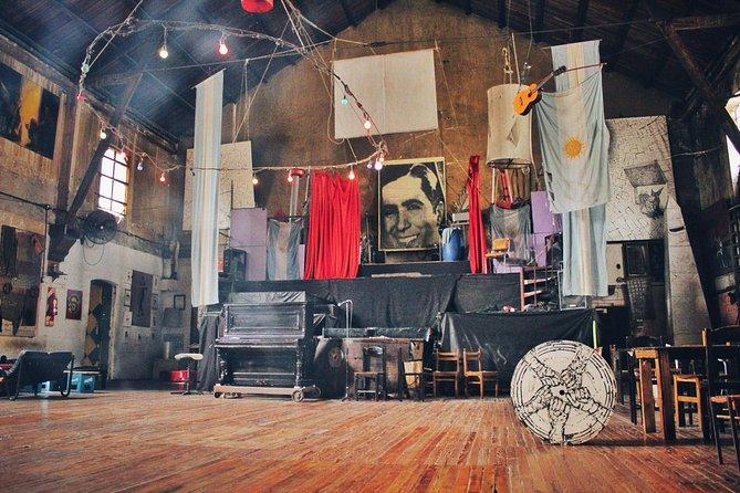 Milonga Dance Lesson and Tango History Tour