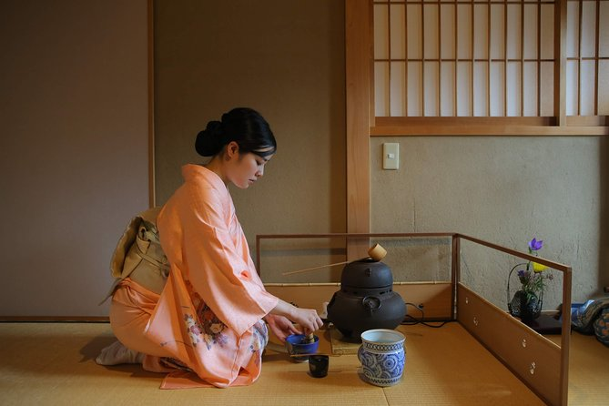 Authentic Kyoto Tea Ceremony: Camellia Flower Teahouse
