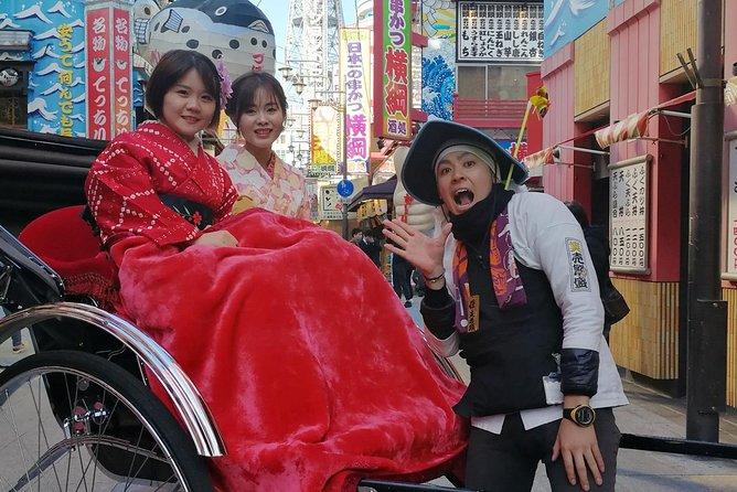 Exiting Rickshaw ride and Kimono experience