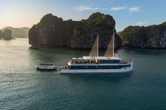 JADE SAILS Halong - Lanha bay LUXURY Day Tours