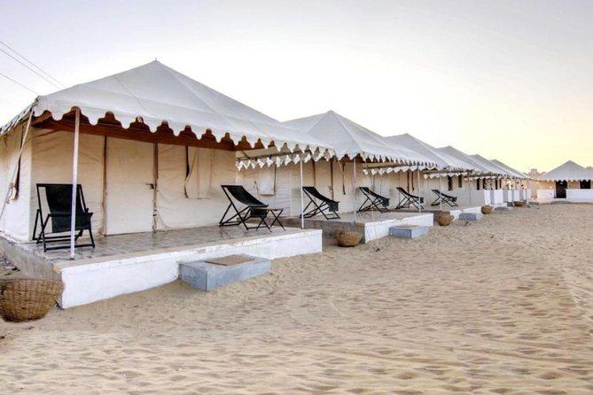 Swiss tent camping in Jaisalmer