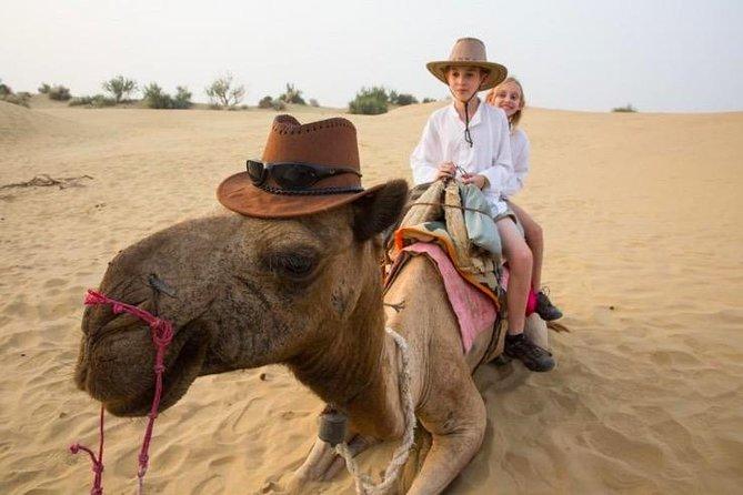 Jaisalmer Desert Camping (AC Cottage)