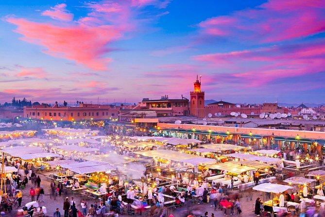 Depuis Agadir : Marrakech Excursion pour une journée