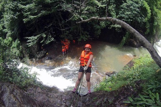 Dalat's Abseiling/Rappelling the Waterfalls & Canyons