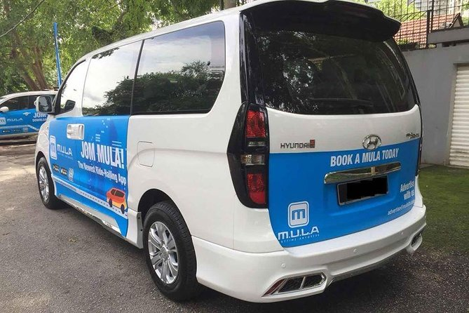 Airport Private Transfer: Penang Airport to or from Town Hotel (10 seater)