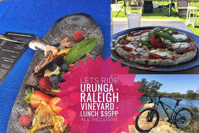 Ride Urunga to Raleigh Winery for lunch