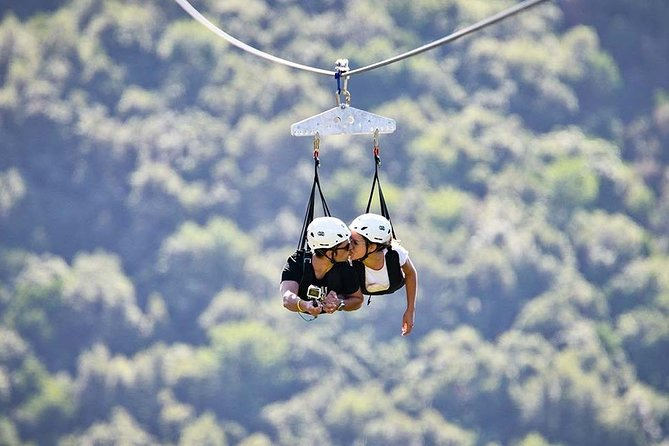 Private Zipline Experience for Couples in Trentinara