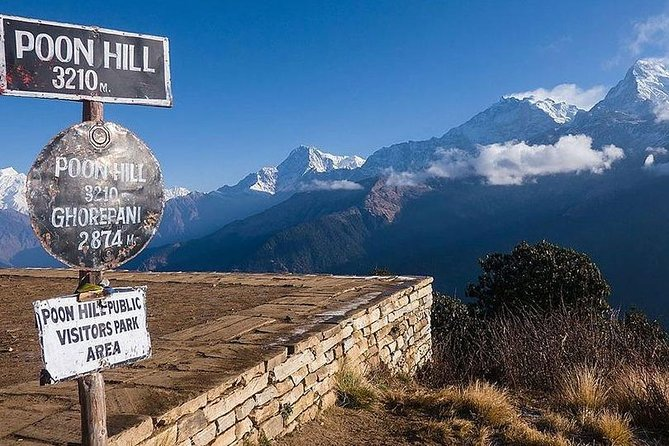 3 Days Poonhill Trek from Pokhara