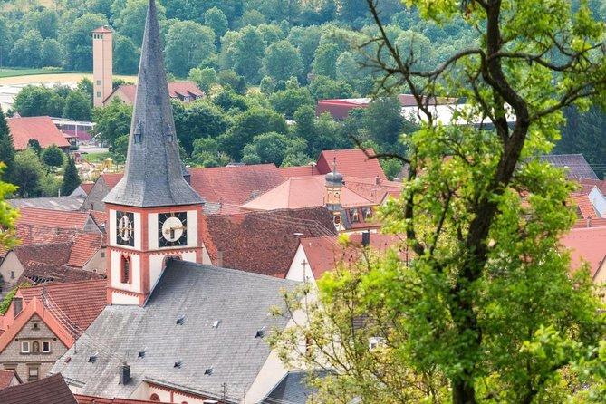Romantic Road Ticket from Frankfurt/Main to Röttingen Wine Village (SATURDAY)