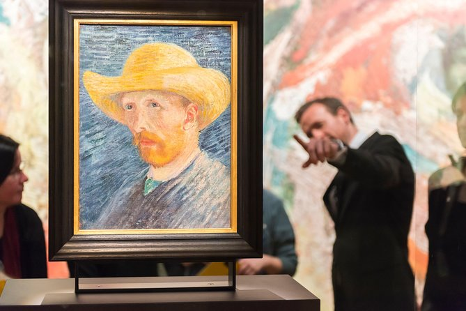 Footsteps of Van Gogh Walking Tour with van Gogh Museum and Canal Cruise