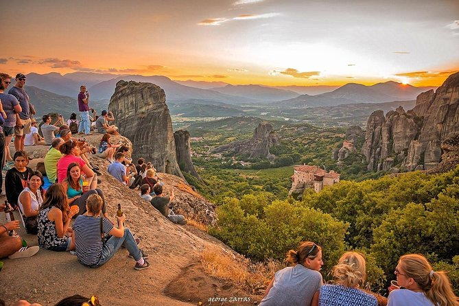 Two Days Rail Tour to Meteora from Athens