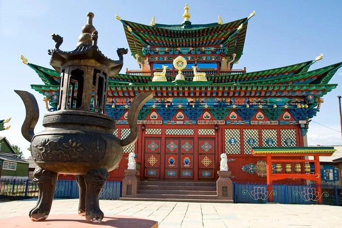 Private Tour to Ivolginsky Datsan - center of Buddhism in Russia