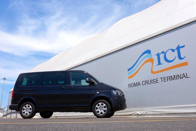 Private transfer from Fiumicino Airport (FCO) to Civitavecchia port