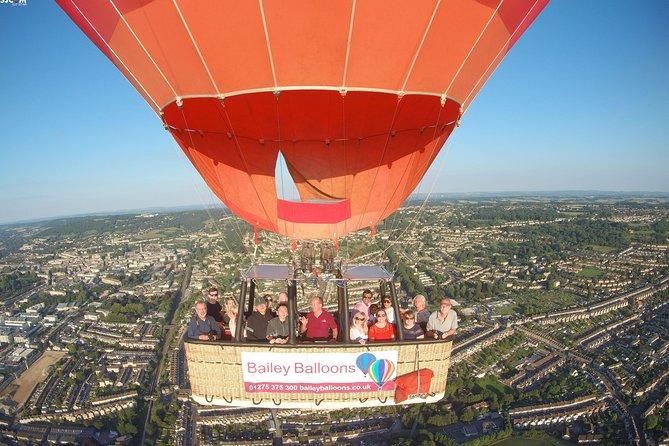 Hot Air Balloon Flight from Bath