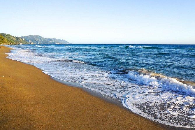 Corfu Beaches & Corfu Town: Full Day Private Tour