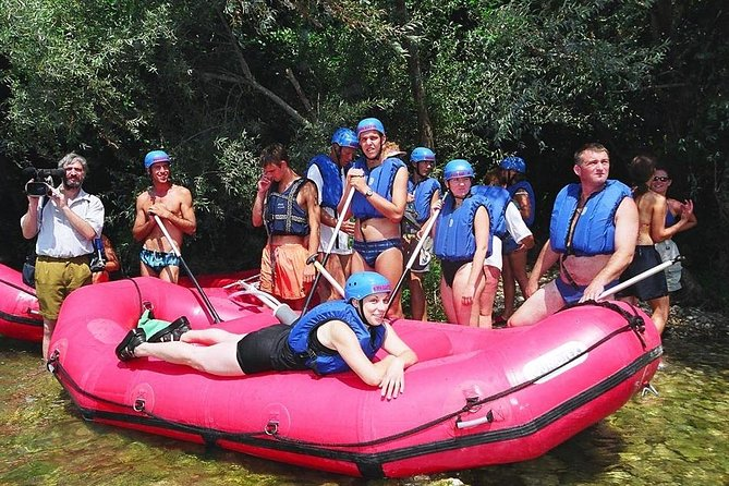 Rafting experience on Cetina river