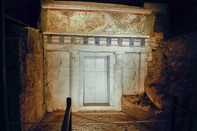 Royalty Vergina Private Tour from Corfu
