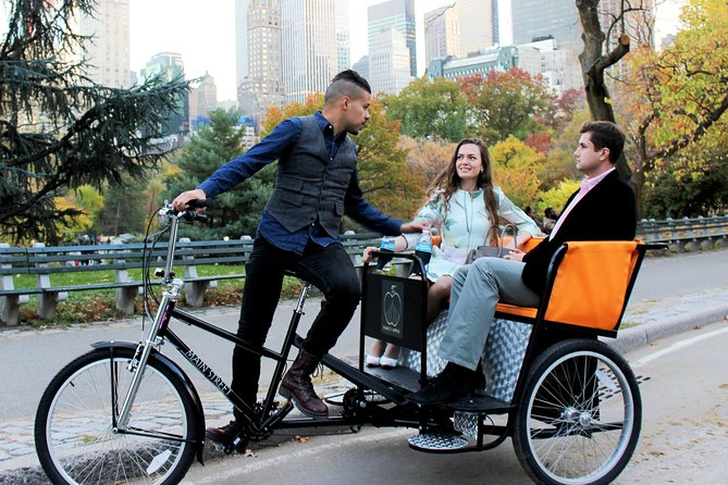 Private Central Park Guided Tour by Pedicab