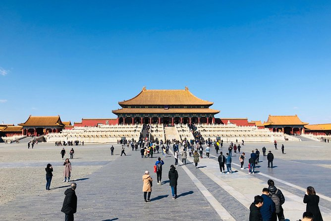 4-Hour Private Tour: Forbidden CIty, Tiananmen Square and Jingshan Park