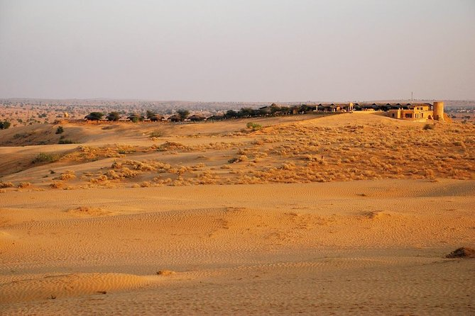 A magical retreat on a Dune with camel & jeep safari (Min 2 People)