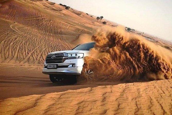Morning Sheikh Zayed Grand Mosque Visit & Evening Red Dunes Desert Safari