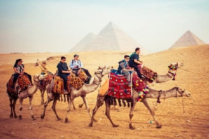 Private Tour of Pyramids, Sphinx, Egyptian Museum including camel Ride & Lunch
