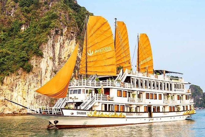 Ancora Cruise 5 Star - Ha Long Bay 2 Days 1 Night Luxury Tour