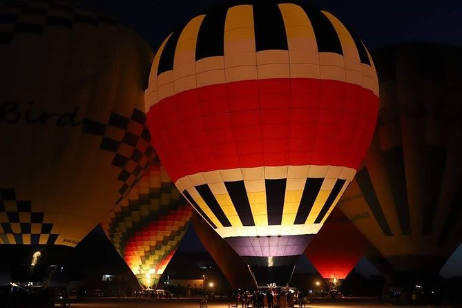 One package Hot Air Balloon with Luxor Private Full Day Tour