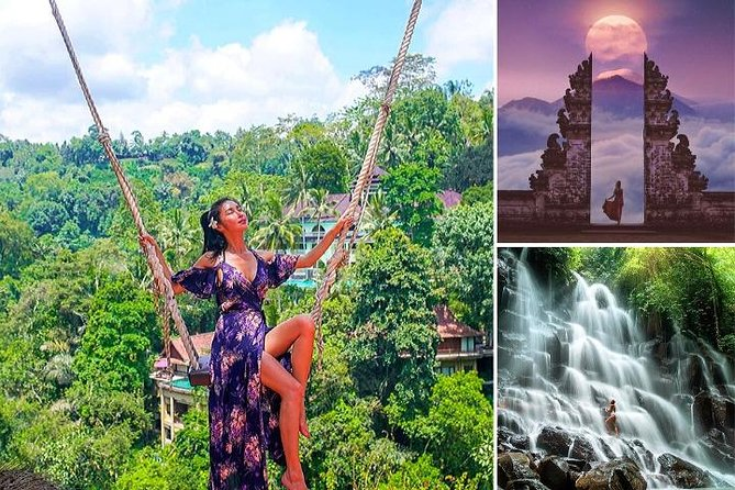 Bali Instagram Tour Included Tickets, Lunch and Swing