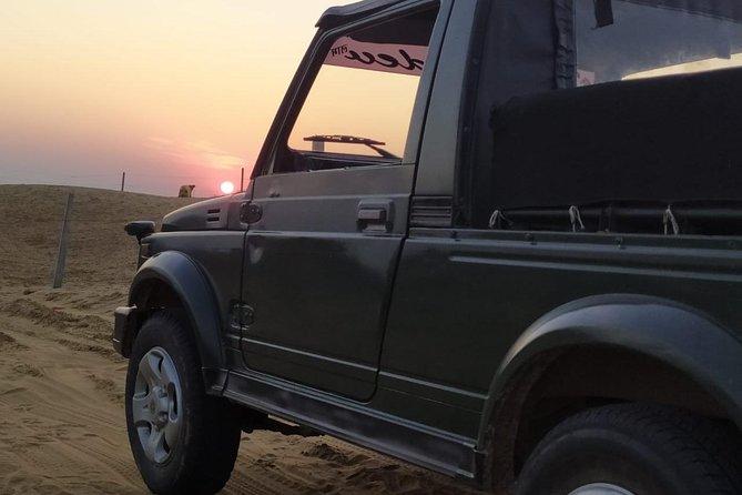 Camel-Jeep Desert Safari Osian Jodhpur