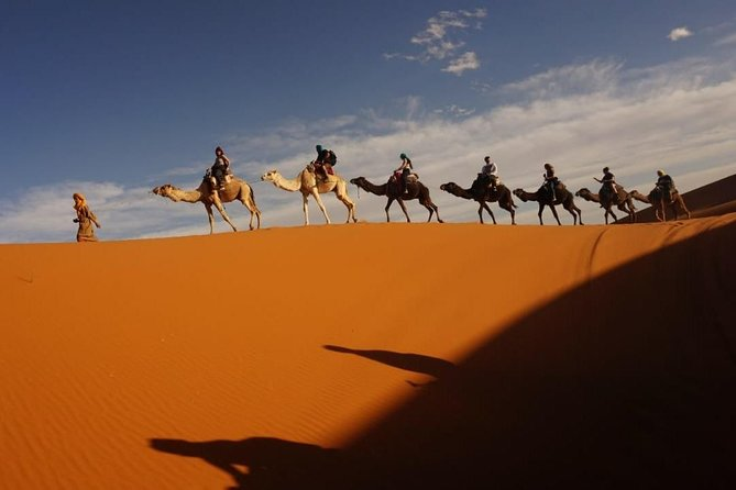Fes to Marrakech via Desert Tour Private 4 night 5 days