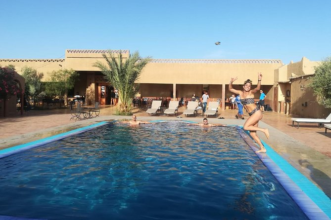 4-days Private Tour Marrakech to Fes via desert Ait Ben Haddou Ouarzazate