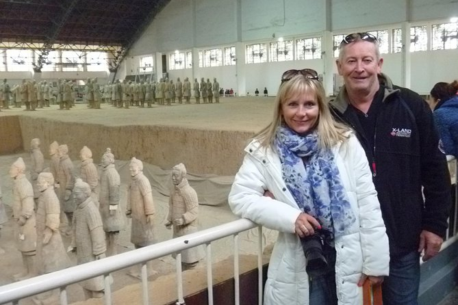 Express Bullet Train Tour to Terracotta Warriors from Beijing for One Day
